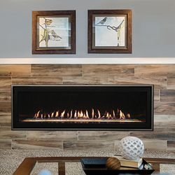 Empire Boulevard Direct Vent Linear Gas Fireplace - 60""