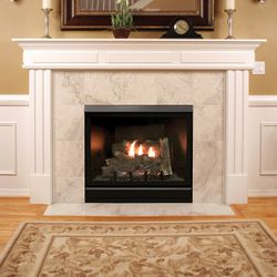 """Empire Deluxe Tahoe Clean-Faced Direct Vent Fireplace - 42"""""""