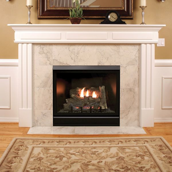 "Empire Deluxe Tahoe Clean-Faced Direct Vent Fireplace - 42"" image number 1"