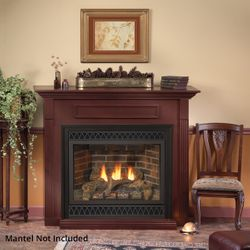 """Empire Deluxe Tahoe Direct Vent Gas Fireplace - 36"""""""