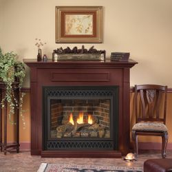 """Empire Deluxe Tahoe Direct Vent Gas Fireplace - 48"""""""