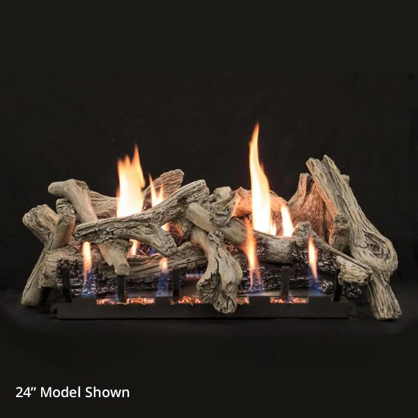 Empire Driftwood Burncrete Ventless Gas Log Set image number 0