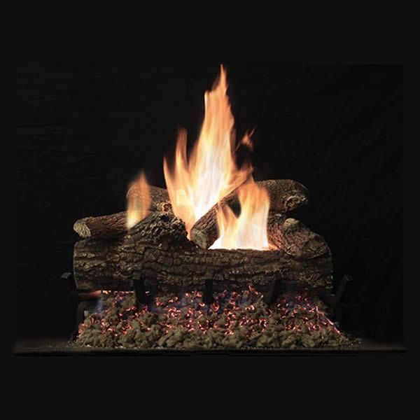 Empire Great Lakes Oak Vented Gas Log Set image number 0