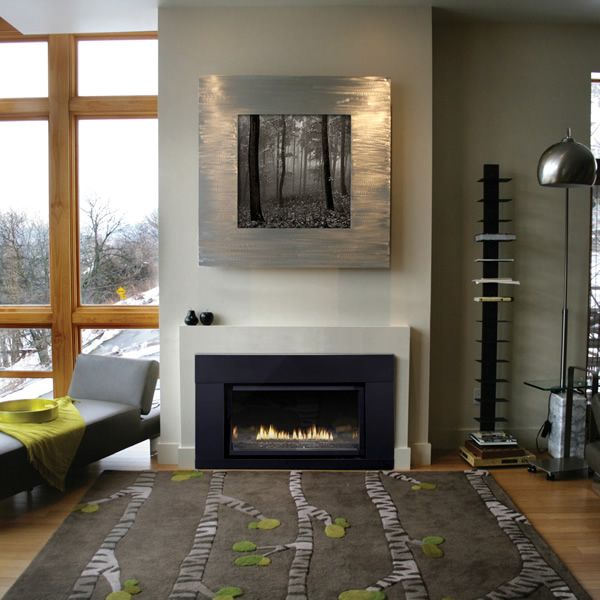 Empire Loft Series DVL33 Direct Vent Fireplace image number 1
