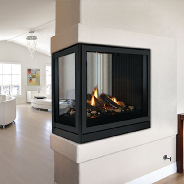 "Empire Premium Tahoe Peninsula Direct Vent Fireplace - 36"" image number 0"