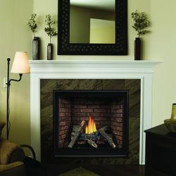 """Empire Premium Tahoe Traditional Direct Vent Fireplace - 32"""""""