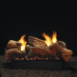 Empire Stone River See Through Ventless Gas Log Set