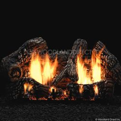 Empire Super Charred Oak Ventless Gas Log Set