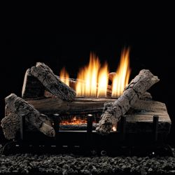 Empire Whiskey River Ventless Gas Log Set