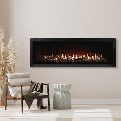 "Empire Boulevard Direct Vent Linear Gas Fireplace - 60"""