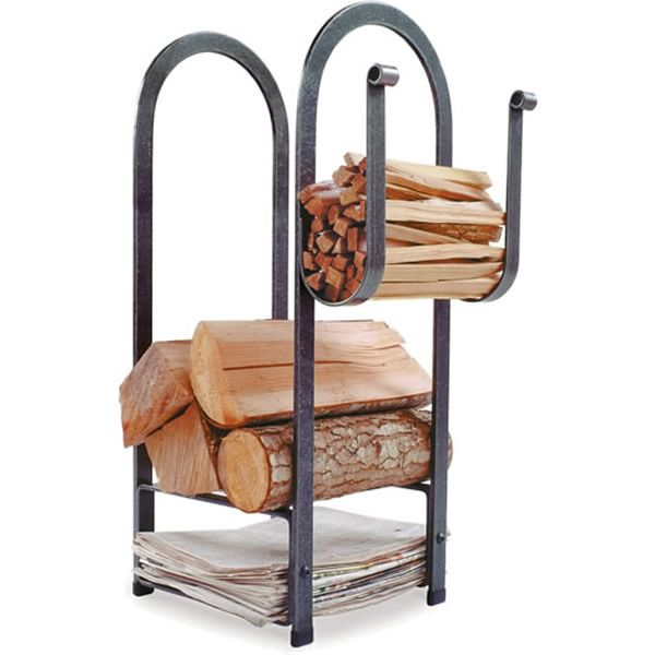 Enclume Fire Center Indoor Firewood Rack image number 0