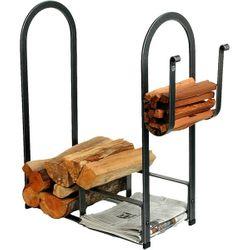 Large Fire Center Indoor Firewood Rack