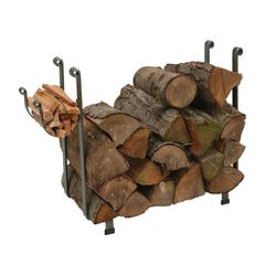 Large Rectangular Indoor Firewood Rack