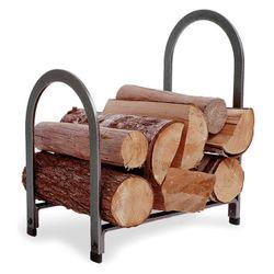 Offset Arch Indoor Firewood Rack