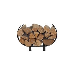 "Enclume U-Shaped Firewood Rack 22"" - Textured Bronze"