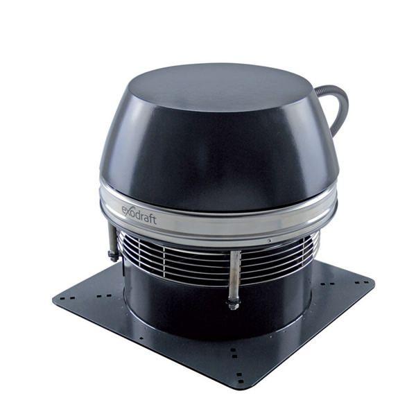Enervex RSHT9 Manual Control Wood Burning Chimney Fan System image number 0