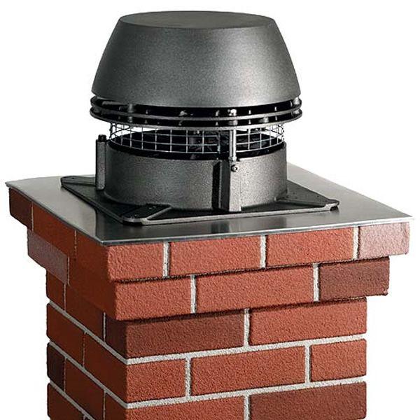 Enervex RS9 EcoDamper Gas Burning Chimney Fan System image number 0