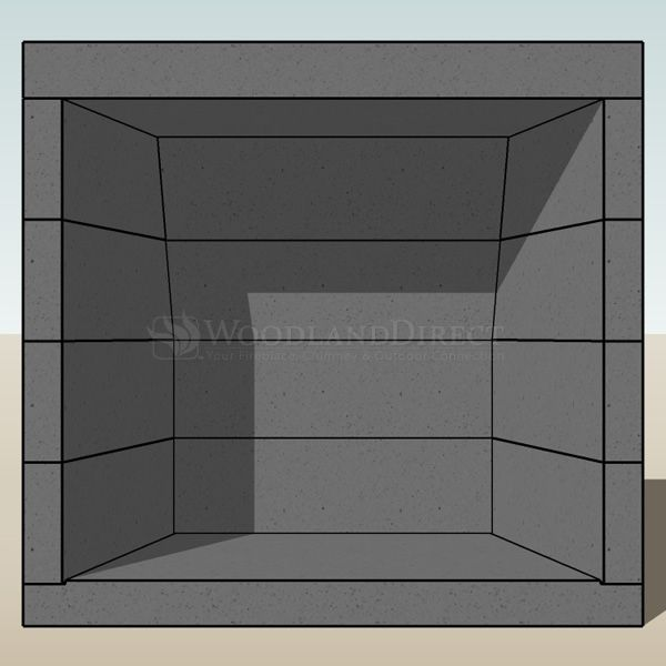 "Engineered Vent-free Masonry Fireplace System - 36"" image number 6"