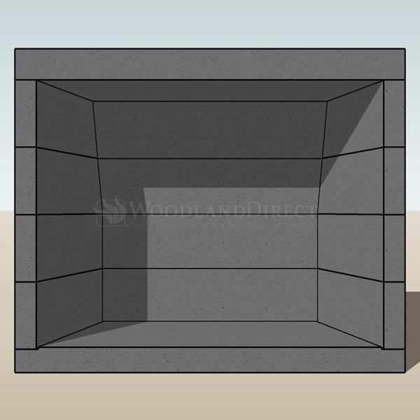 "Engineered Vent-free Masonry Fireplace System - 42"" image number 6"
