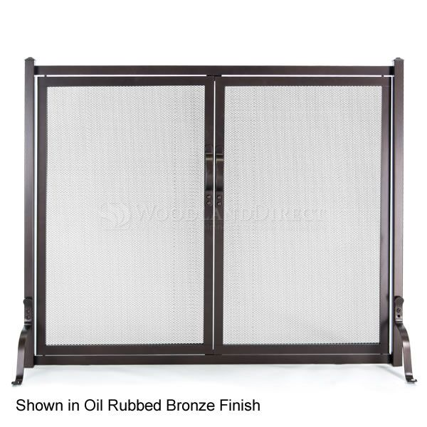 Early American Fireplace Screen with Doors image number 0
