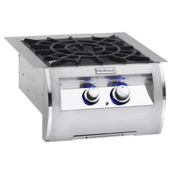 Echelon Diamond Built-In Power Burner - Porcelain Grid
