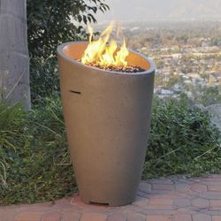 Eclipse Gas Fire Urn