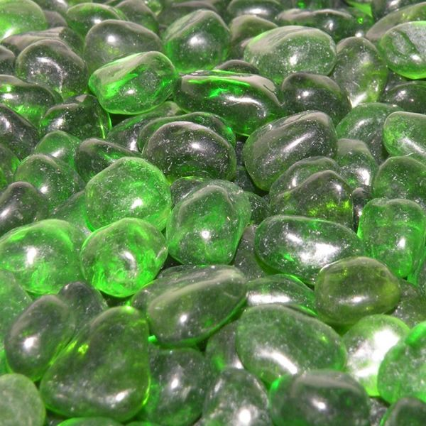 Eco Glass Jade Green - 10 lbs image number 0
