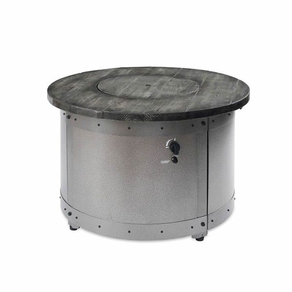 Edison Round Gas Fire Pit Table image number 4