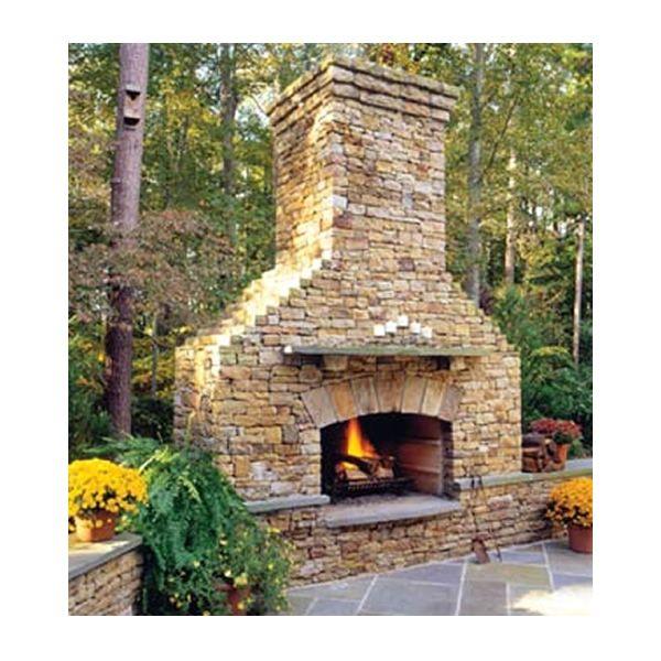 Elite Outdoor Custom Classique Fireplace image number 0
