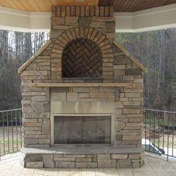 Elite Outdoor Custom Grande Classique Fireplace