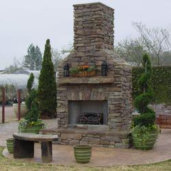 Elite Outdoor Custom Tall Classique Fireplace