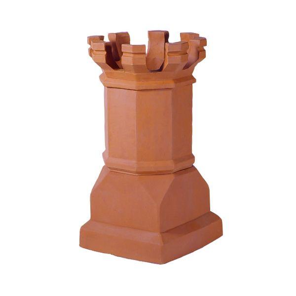 Sandkuhl Estate Magnum E Crown Clay Chimney Pot image number 0