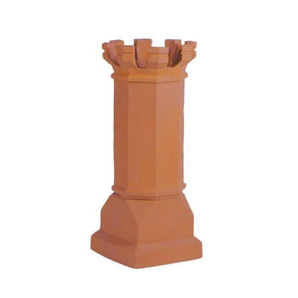 Sandkuhl Estate Magnum E Tall Crown Clay Chimney Pot image number 0