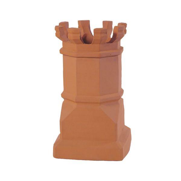 Sandkuhl Estate Jumbo E Crown Clay Chimney Pot image number 0