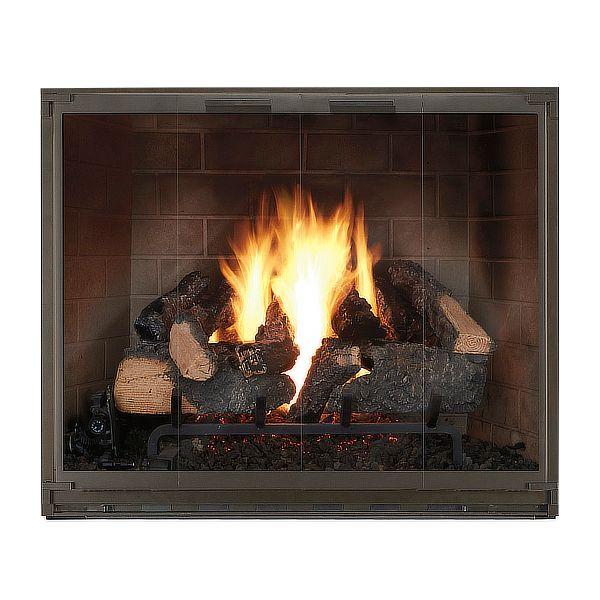 Essex Masonry Fireplace Glass Door image number 0