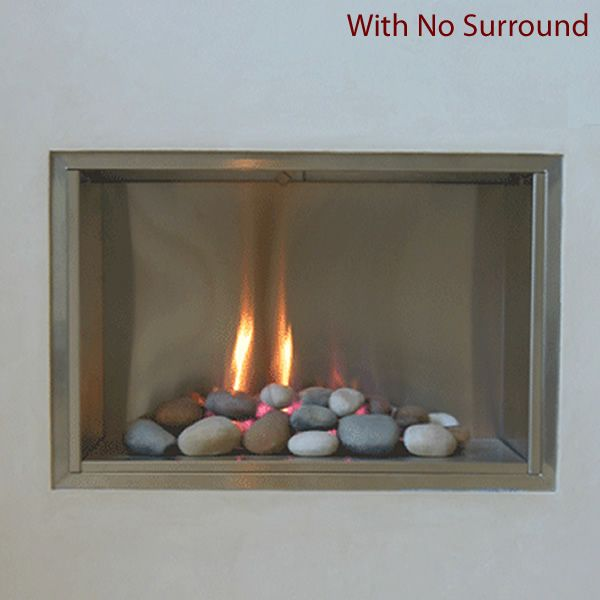 European Home Mirage B-Vent Gas Fireplace image number 1