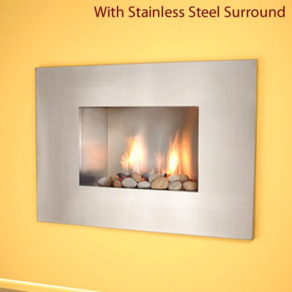 European Home Mirage B-Vent Gas Fireplace image number 4