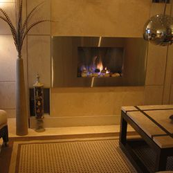 European Home Mirage B-Vent Gas Fireplace