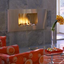 European Home Mirage Vent Free Gas Fireplace
