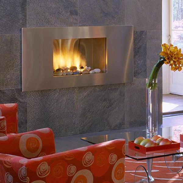 European Home Mirage Vent Free Gas Fireplace image number 0