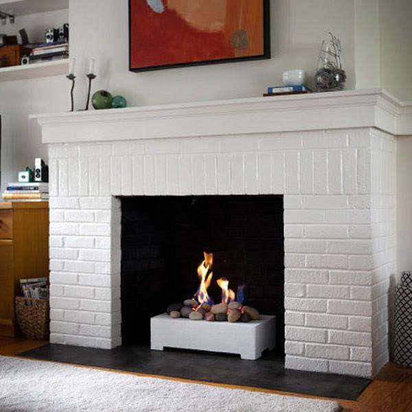European Home Vented Fire Rock Set image number 0