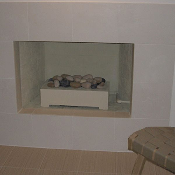 European Home Ventless White Fire Rock Set image number 0