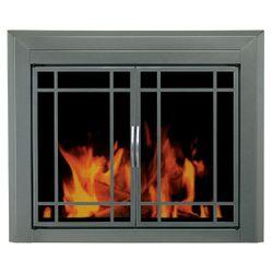 Exeter Fireplace Glass Door