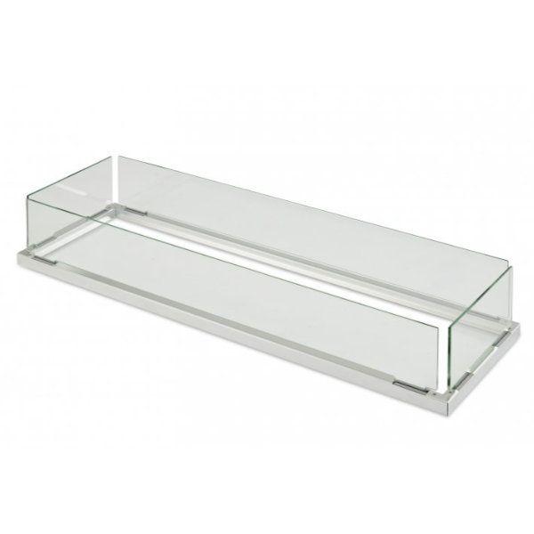 """Folding Glass Guard & Burner Cover for 12"""" X 42"""" Burner image number 0"""