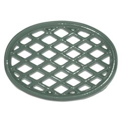 Forest Green Lattice Wood Stove Trivet