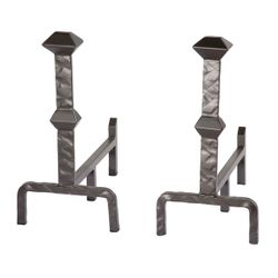 Forest Hill Andirons - Pair