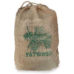 Fatwood in Burlap Sack - 8 Lbs.