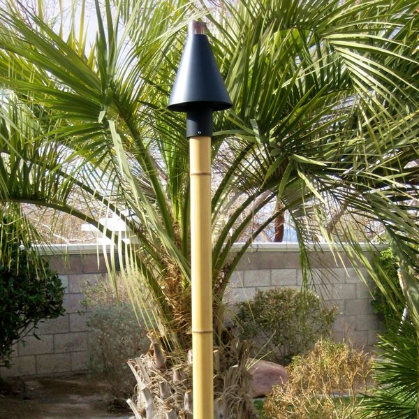 Faux Bamboo Torch Pole image number 0