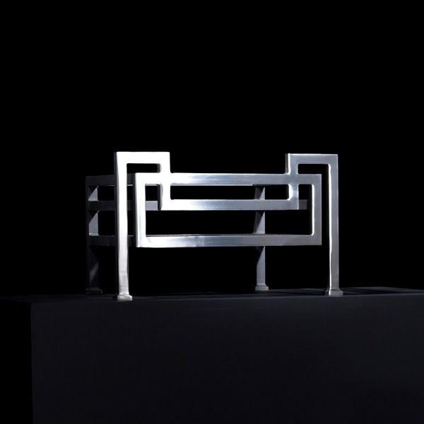 "Fibonacci Freestanding Fire Basket - 22"" image number 2"