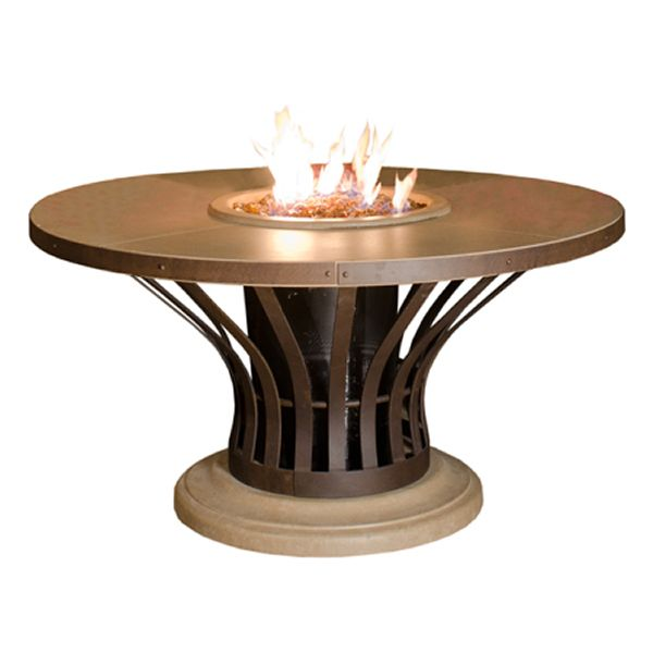 Fiesta Dining Gas Fire Pit Table image number 1